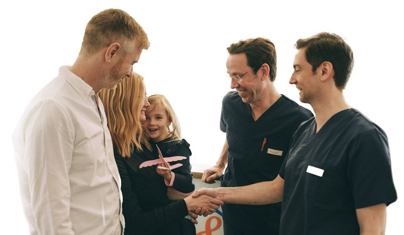 Beim Zahnarzt in Spandau fühlt sich Ihre Familie wohl.