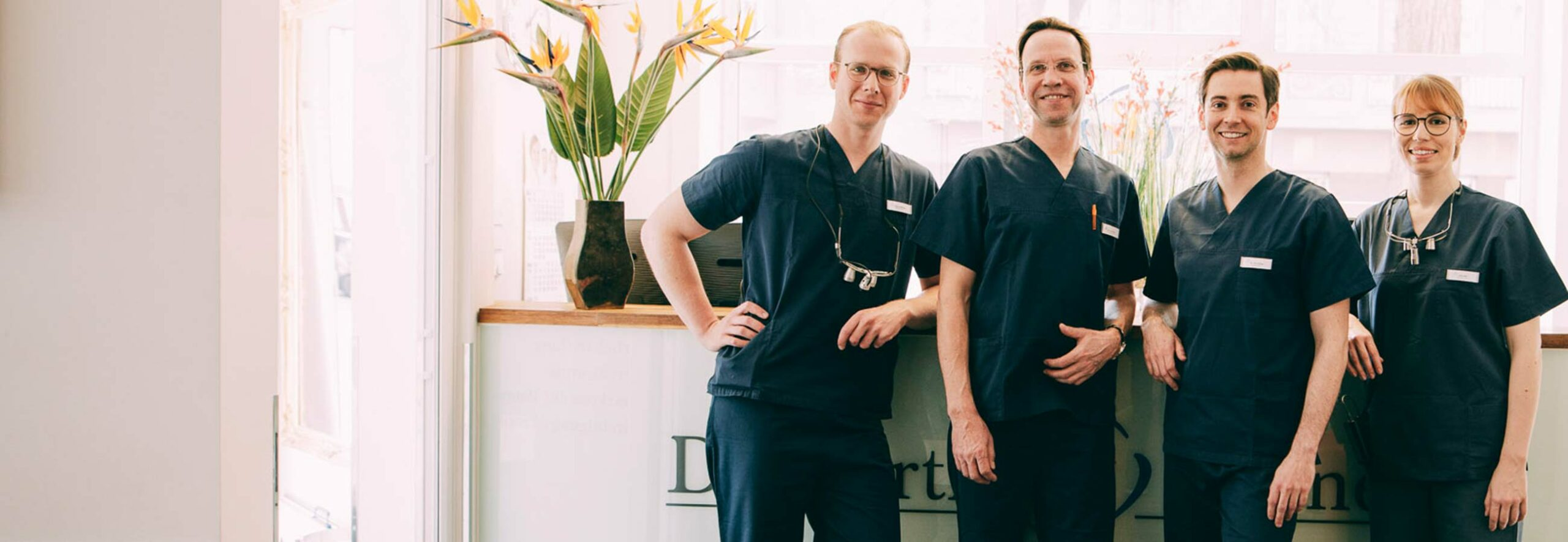 Ihr Zahnarzt in Berlin-Spandau, das Team von Dr. Kurth & Partner.