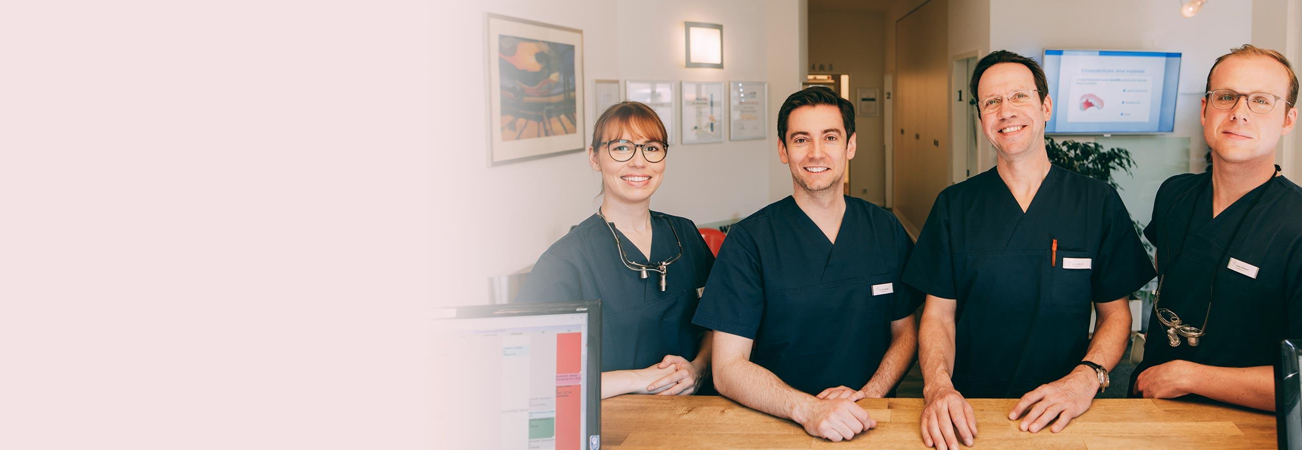 Die Zahnärzte von Dr. Kurth & Partner geben Informationen zu Überweisungen.