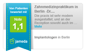 Note 1,1 - Implantologe in Berlin
