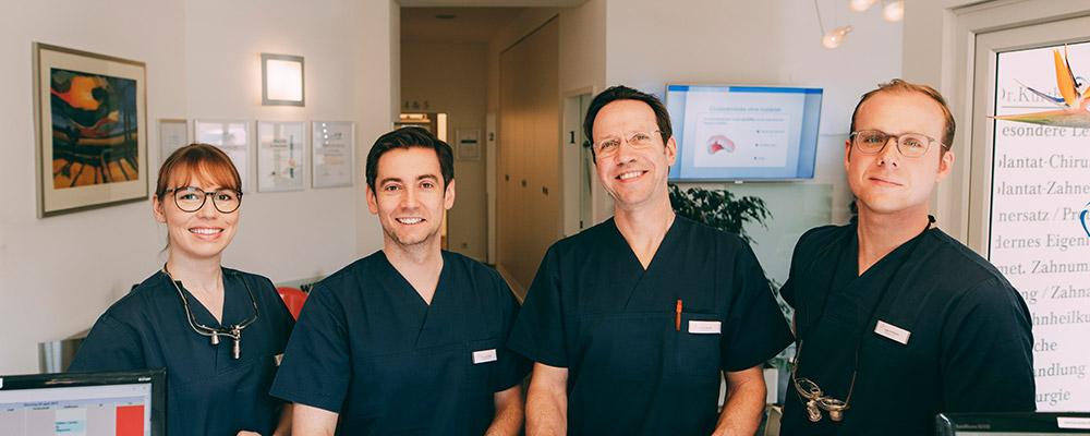 Ihre Implantologen für die Menschen aus Falkensee – Zahnarzt Dr. Sven Kurth und sein Team